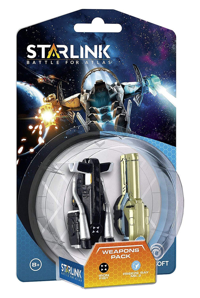 Ubisoft Figura interativa Starlink Weapon Pack Iron Fist + Freeze Ray Toys