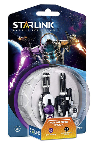 Figura Starlink Ubisoft Weapon Pack Crusher + Shredder Toys