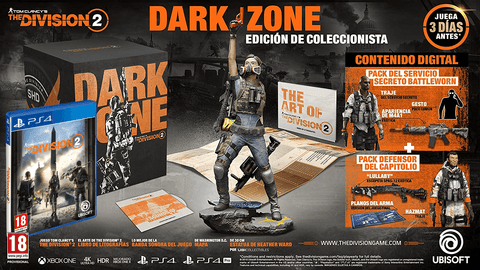 RESERVA JÁ PS4 THE DIVISION 2 DARK ZONE EDITION