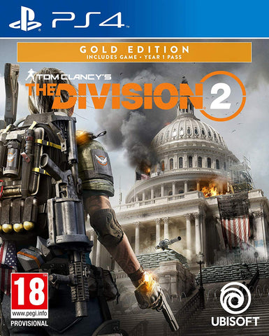 RESERVA JÁ PS4 THE DIVISION 2 GOLD EDITION