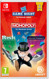 SWITCH HASBRO GAME NIGHT MONOPOLY + RISK + TRIVIAL PURSUIT