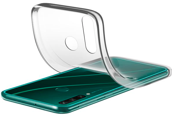 Capa Cellularline Huawei Y6P Soft Transparente