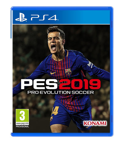 PS4 PES 2019 BUNDLE