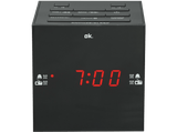 OK Rádio Despertador OCR 420BT-B Bluetooth