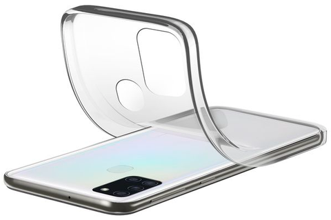 Capa Cellularline Samsung A21s Soft Transparente