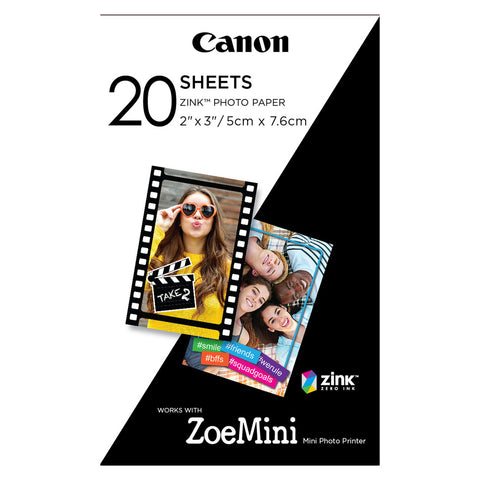 Pack Papel Canon 2x3
