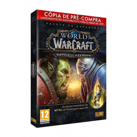 PRÉ-COMPRA - PC WORLD OF WARCRAFT: BATTLE FOR AZEROTH