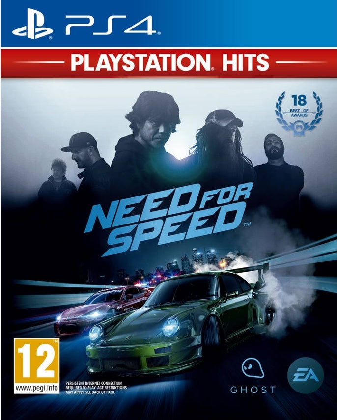 Jogo PS4 Hits Need For Speed 2016