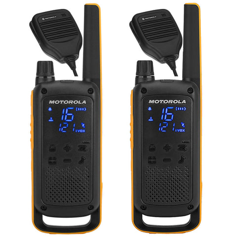 Motorola TLKR-T82 Extreme RSM Duo  - Walkie Talkies