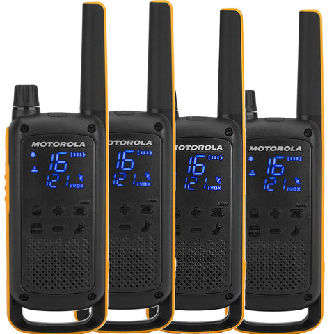 Motorola TLKR-T82 Extreme Quad  - Walkie Talkies