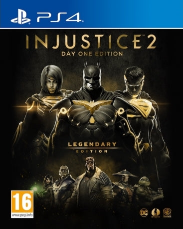 PS4 Injustice 2 Legendary Day 1 Edition