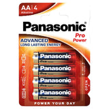 Pilhas Alcalinas Panasonic Pack 4 AA Pro Power 1,5V