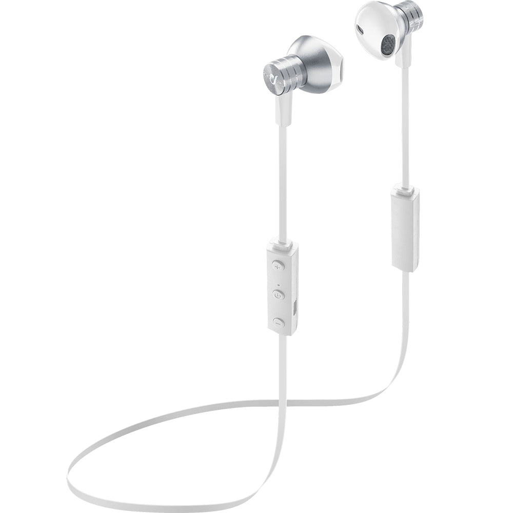 Auriculares Bluetooth Cellularline Pearl Branco