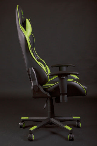 World Of Gamer Cadeira Gaming Spider Verde Fluorescente
