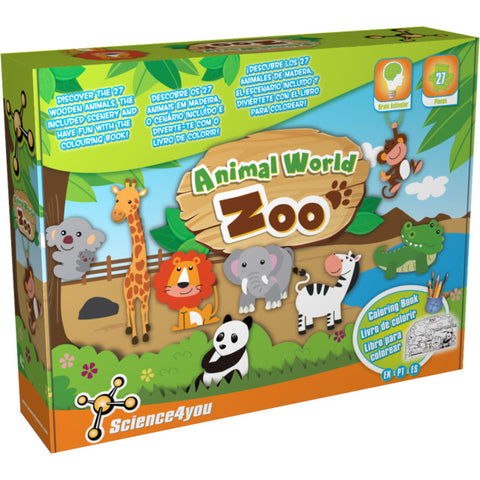 Science4you ANIMAL WORLD  - ZOO