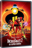 Incredibles 2: Os Super-Heróis DVD