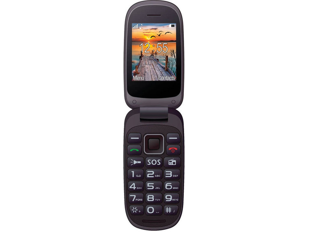 Maxcom Comfort MM818 Senior Phone Preto - Telemóvel