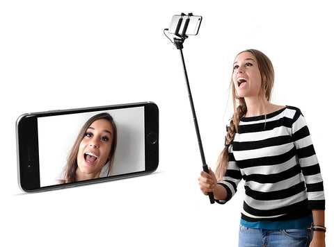 Selfie Stick Fresh 'n Rebel com fio