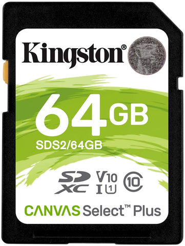 Cartão SDXC Kingston 64GB Classe 10 U1 100MB/s