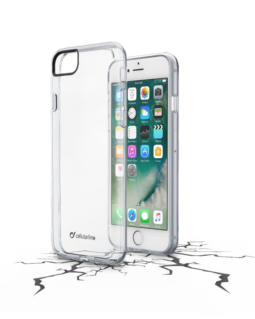 Capa Cellularline iPhone 7 Plástico Transparente