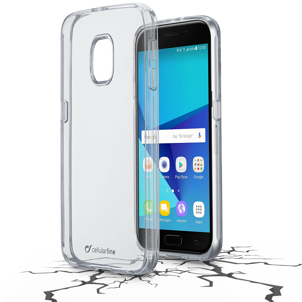 Capa Cellularline Clear Duo Galaxy J5 (2017) Transparente