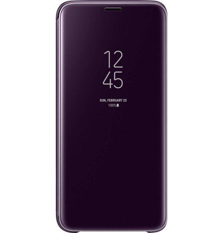 Samsung Capa Clear View Galaxy S9 Orchid Grey