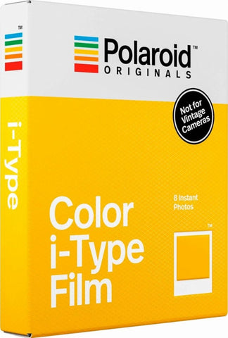 Papel Fotográfico Polaroid Color i-Type Film 8 folhas