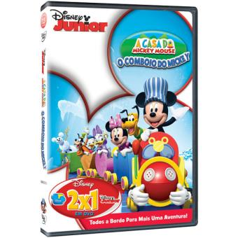 DVD A Casa do Mickey Mouse - O Comboio do Mickey