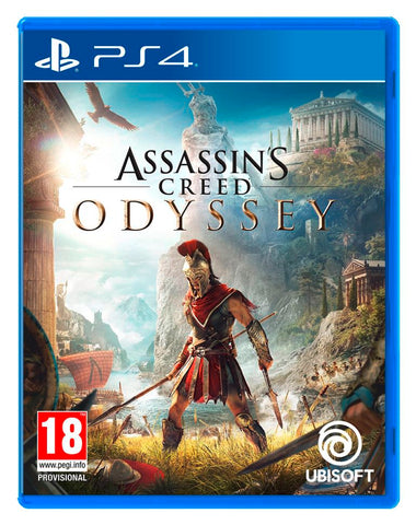 Jogo PS4 Assassin's Creed Odyssey Port