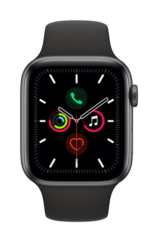 Apple Watch 44mm Series 5 Sport Preto - Smartwatch