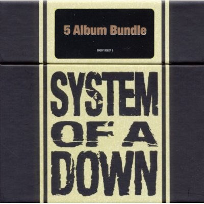 CD System Of A Down - Album Bundle 5CD