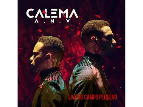 Calema Ao Vivo No Campo Pequeno CD + DVD