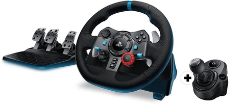 Conjunto Logitech Volante Gaming G29 + Joystick Force Shifter