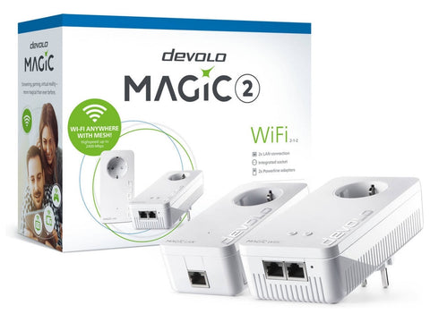 Powerline Devolo 8390 Magic 2 WiFi Starter Kit 2400Mbps