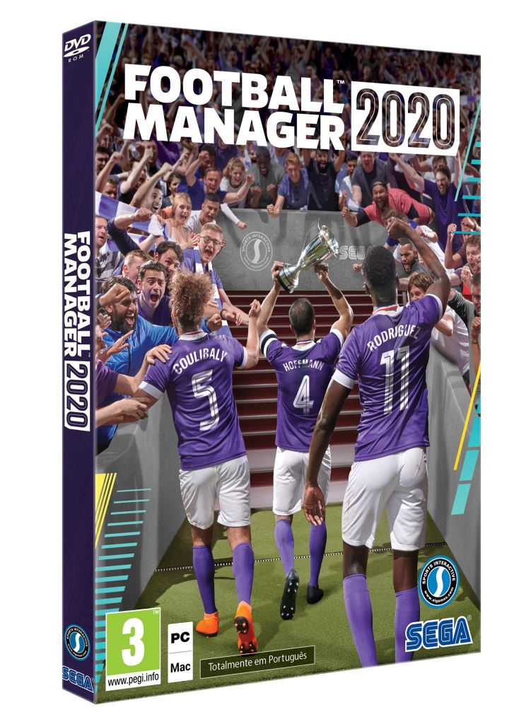 Jogo PC Football Manager 2020