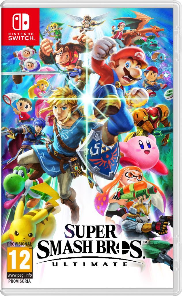 Jogo Switch Super Smash Bros Ultimate