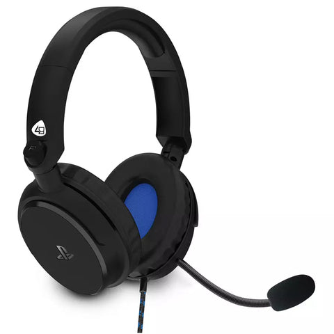 Headset Gaming PS4 4Gamers Pro 4-50 Preto