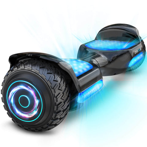 Hoverboard Gyroor All Led OffRoad 6.5 Preto