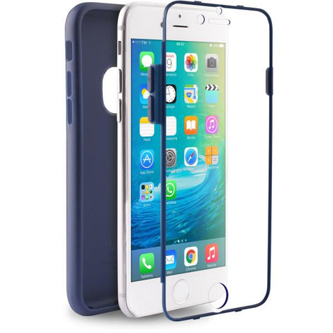 Puro Capa iPhone 6 / 6s Total Protection Azul