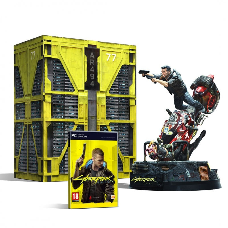 Jogo PC Cyberpunk 2077 Collectors Edition