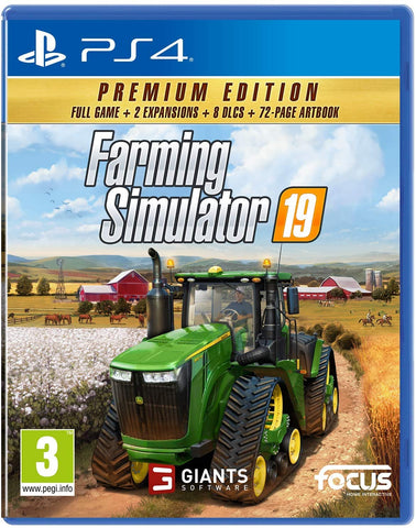 Jogo PS4 Farming Simulator 19 Premium Edition
