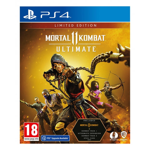 Jogo PS4 Mortal Kombat 11: Ultimate Limited