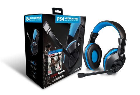 Jogo PS4 Tomb Raider Definitive Edition + Headset PS4