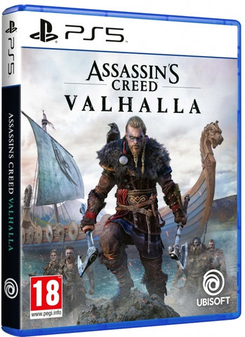 Jogo PS5 Assassin's Creed Valhalla.