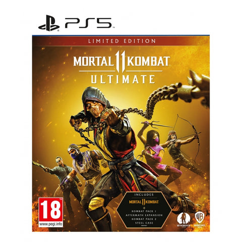 Jogo PS5 Mortal Kombat 11: Ultimate Limited Ed.