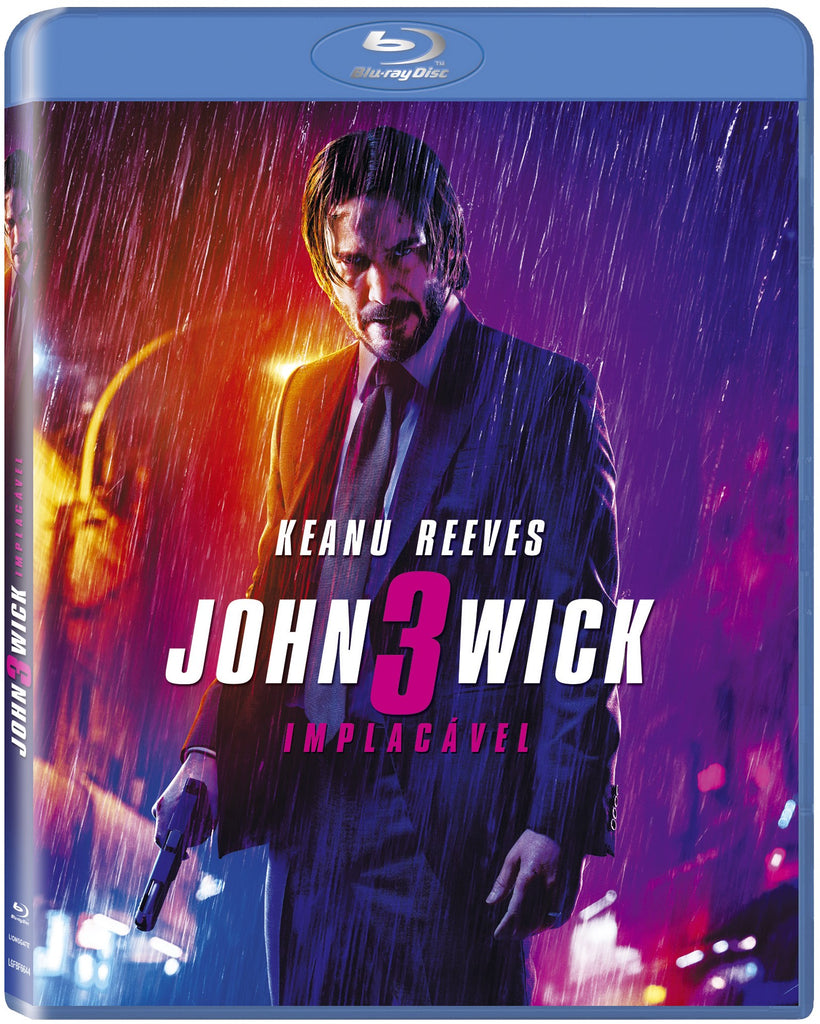 Blu-Ray John Wick 3: Implacável
