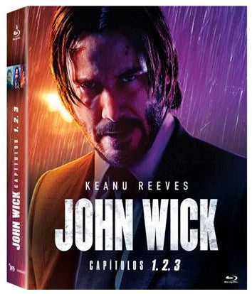 Blu-Ray Pack John Wick 1+2+3