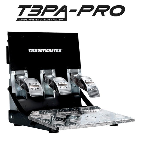 Kit Thrustmaster Pedais T3PA Pro Multi + Manete de Mudanças TH8A