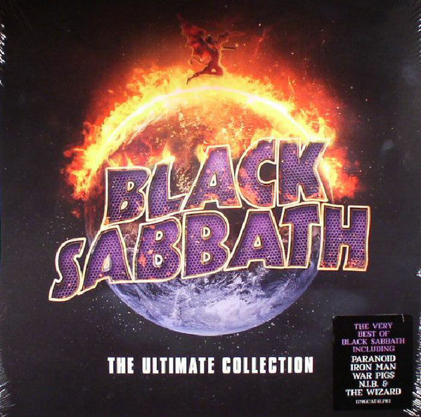 LP Black Sabath - The Ultimate Collection 4LP