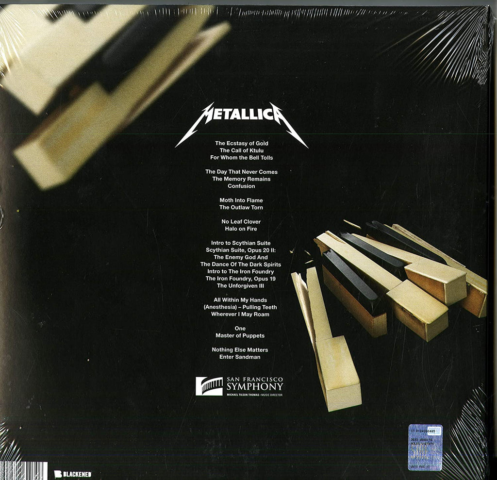 LP Metallica S&M 2 Box 4LP